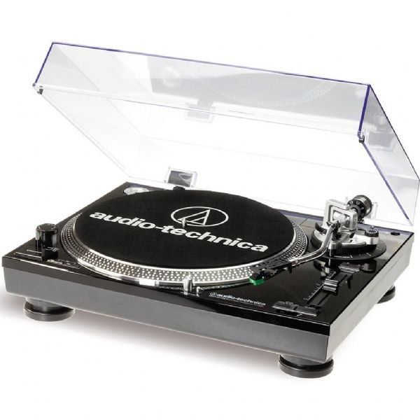 Audio Technica AT-LP120 Direct Drive USB & Analog Turntable ATLP120 Black